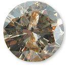 Fancy Light Brownish Yellow Diamond 0.64 carats