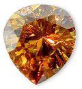 Fancy Yellowish Brown Diamond 1.14 carats