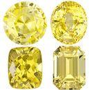 <b>Heirloom Yellow Sapphire Gems</b>