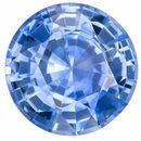 Genuine Blue Sapphire Round Shaped Gemstone, 0.78 carats, 5.7mm - A Beauty of A Gem