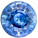 Genuine Blue Sapphire Round Shaped Gemstone, 0.97 carats, 5.9mm - Super Great Buy
