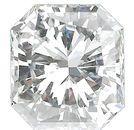 Genuine Diamonds in Radiant Cut - GH VS Quality Grade