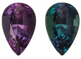 Genuine Gem Alexandrite Pear Shaped Gemstone with GIA Cert, 0.71 carats, 6.96 x 4.56 x 3.44 mm - A Beauty of A Gem