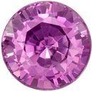 Genuine Purple Sapphire Round Cut in Grade AAA