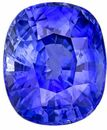 Genuine Blue Sapphire Gemstone, Cushion Cut, 6.1 carats, 11.55 x 9.69 x 6.68 mm , GIA Certified - A Low Price