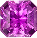 GIA Certified No Treatment 1.76 carats Pink Sapphire Loose Gemstone in Radiant Cut, Rich Pink, 7.1 x 7.1 mm