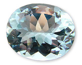 Gorgeous Gem Blue Aquamarine Gemstone Oval USA Cutting,  13.22 carats at AfricaGems