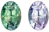 Gorgeous Total Color Change Alexandrite Gemstone, 1.09 Carats, Oval Shape, 7.14 x 5 x 3.95 mm, Stunning Total Color Change Color with GIA Cert