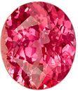 GIA Certified Peach Coral Colored Sapphire Genuine Gem in Oval Cut, 8.48 x 7.28 x 4.15 mm, 2.01 carats