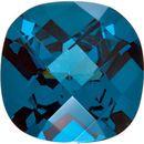 Imitation Blue Zircon Antique Square Cut Checkerboard Stones