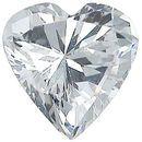 Imitation Diamond Heart Cut