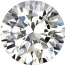 Imitation Diamond Round Cut