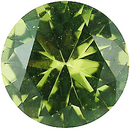 Imitation Peridot Round Cut Stones