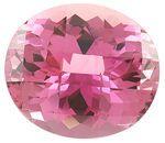 Large Faceted Beautiful Pink Tourmaline Gemstone, Beautiful Medium Tone Pink, Clean Gem in 20.22 carats