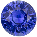 Very Pretty GIA Certified Blue Sapphire Loose Gem, Round Cut, Rich Cornflower Blue, 8.61 x 8.7 x 5.04 mm, 2.76 carats