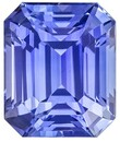 Loose Genuine Blue Sapphire Gemstone, 4.28 carats, Emerald Shape, 9.4 x 7.8 mm, Super Great Buy