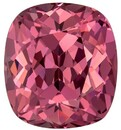 Stunning Mahenge Malaya Rose Garnet Gemstone, 3.47 carats, Cushion Shape, 8.8 x 7.9 mm, Great Colored Gem