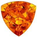 Loose Stone Citrine Trillion Shaped Gemstone, 2.17 carats, 9 x 9mm - A Beauty of A Gem