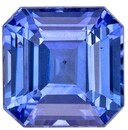 Low Price Blue Sapphire Gemstone, 1.06 carats, Emerald Shape, 5.3 mm, Super Great Buy