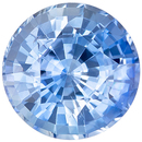 Low Price on  Blue Sapphire Gem in Round Cut, 6 mm in Gorgeous Cornflower Blue, 1.03 carats