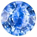Must See Blue Sapphire Round Shaped Gemstone, 0.8 carats, 5.8mm - Deal on Gem
