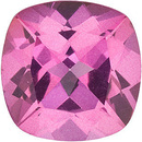 Mystic Pink Topaz Square Cushion Cut in Grade AAA