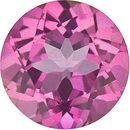Mystic Pink Topaz Round Cut in Grade AAA