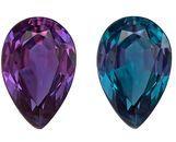 Natural Alexandrite Pear Shaped Gemstone, 0.33 carats, 5.5 x 3.6mm - Super Great Buy