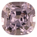 Natural Purple Spinel Gemstone in Antique Cushion Cut, 1.99 carats, 7.49 x 7.48 mm Displays Pure Purple Color