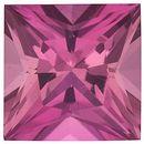 Pink Tourmaline Princess Cut in Grade AAA
