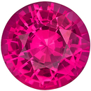 Rare GIA Certified Unheated Genuine Pink Sapphire Gem in Round Cut, 6.03 x 6.1 mm in Gorgeous Pure Rich Pink, 1.03 carats