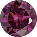 Round Purple Enhanced Diamonds
