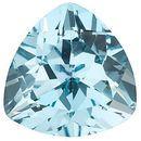 Sky Blue Topaz in Grade AAA in Trillion Cut