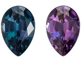 Stunning Alexandrite Pear Shaped Gemstone, 0.33 carats, 5.1 x 3.5mm - Super Great Buy
