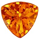 Stunning Citrine Trillion Shaped Gemstone, 2.24 carats, 9.2 x 9.2mm - Super Great Buy