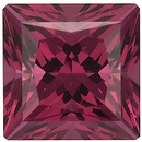 Swarovski Gems Raspberry Princess Genuine Rhodolite Garnet  in Grade FINE
