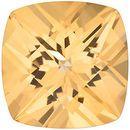 Swarovski  Honey Passion Topaz Antique Square Cut in Grade AAA