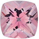 Swarovski in Baby Pink Passion Topaz Antique Square Cut in Grade AAA