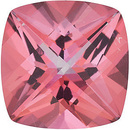 Swarovski Pink Passion Topaz Antique Square Checkerboard Cut in Grade AAA
