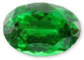 Tsavorite Garnet Gemstone 1.19 carats