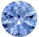 Unique  Blue Sapphire Gemstone, 0.42 carats, Round Shape, 4.6 mm, A Wonderful Find