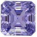 Unique Purple Sapphire Gemstone, 3.02 carats, GIA No Heat, Emerald Shape, 7.32 x 7.26 x 5.48 mm, Super Fine Gem
