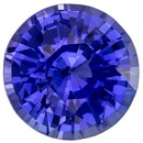 Unset Blue Sapphire Gemstone, Round Cut, 2.01 carats, 7.4 mm , AfricaGems Certified - An Extraordinary Gem