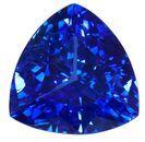 Unset Blue Sapphire Gemstone, Trillion Cut, 2.35 carats, 8.1 mm , AfricaGems Certified - A Fine Gem
