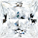 Value Grade Moissanite DEF Color Princess