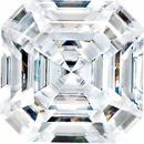 Value Grade Moissanite GHI Color Asscher