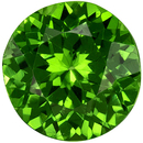 1.01 carats Optimum Color for Tsavorite Gemstone in Fiery Grass Green, 6.0 mm Round