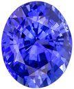 3.26 carats Fiery Rich Blue Sapphire Gemstone in Oval Cut, Stunning Gem Sapphire in 9.9 x 8.1 mm Size