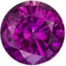 7.3 mm Round 1.93 carats Pink Sapphire Loose Gem, Vivid Pink Magenta in Round Cut