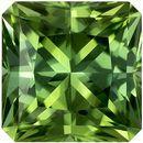 7 mm, 1.79 carats Mint Green Tourmaline Loose Gem in Radiant Cut